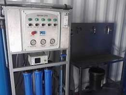 Bottled/Refill Water Start-Up Reverse Osmosis Package - Complete.
