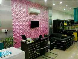 3D Wallpanel ,Wallpaper &Window Blinds
