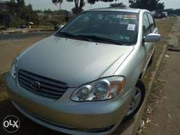 Newly Direct Tokunbo Toyota Coroll 2004 Located in Abuja