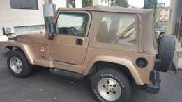 Well used Wrangler Jeep for sale
