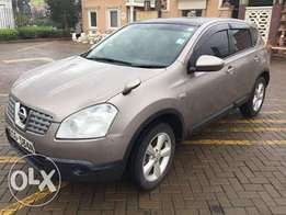 Nissan Dualis with leather warmable seats