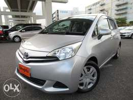 Toyota Ractis,1500cc, 2011 Model, New shape, Reg KCP, Just Arrived