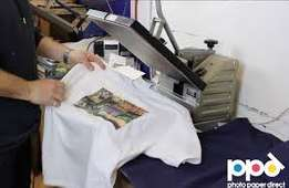 Start Your Own T Shirt Printing Business Using Heat Press Transfer Pap