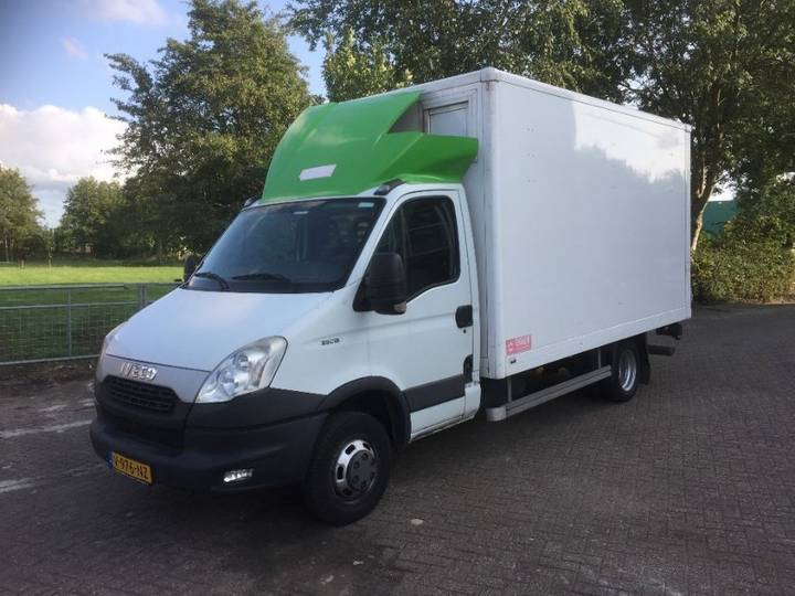Iveco Daily 35c13 Koffer + Lbw - 2013