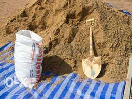 Building river sand in 50 KGS bags