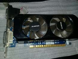 Fairly used gigabyte graphic card