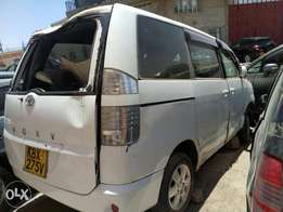 Toyota voxy salvage for sale.