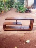 Rustic TV console/stand