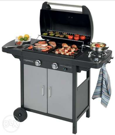 Campingaz® 2 Series Classic EXS Vario - 2 burner BBQ with side burner