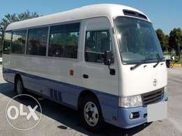 Toyota Coaster/2011/Price 6,000,000/= 4000cc/2WD/Manual/Diesel/KCN REG
