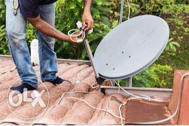 Satellite tv connection