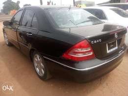 Clean Lagos cleared C240 Benz at a reasonable price.