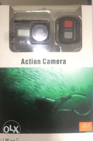 Action Camera 4 K , WIFI full HD Water proof high quality