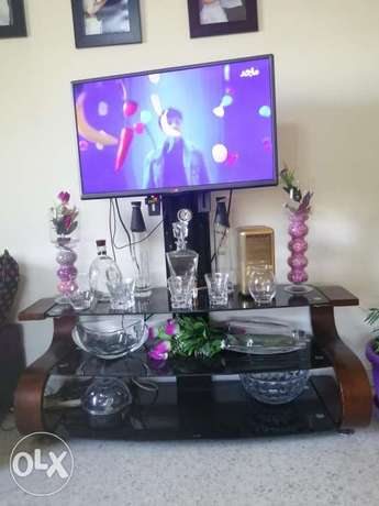 Tv table with stand