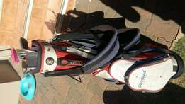 Spalding Golf Clubs with bag for sale