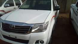 Toyota Hilux 4 by 4 at APO Abuja.