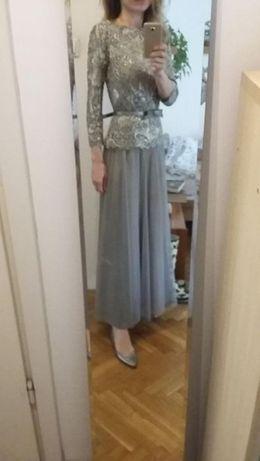 a88544aedd WESELE koronkowa sukienka wieczorowa butik NAVONA rozm. S M Warszawa -  image 1