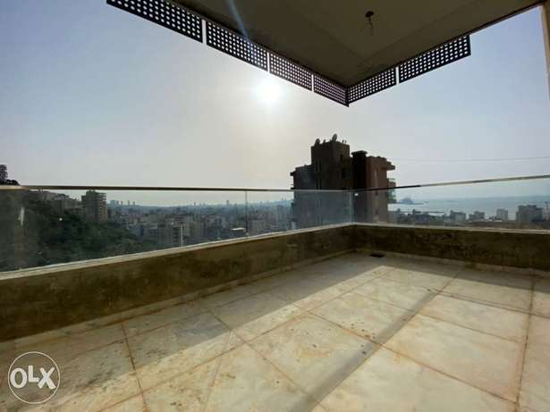 A 130 sqm apartment for sale in Jal el Dib, with open views
