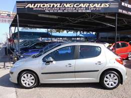 Autostyling Car Sales-East London-07 Peugeot 207 1.4i - Bargain-R69995