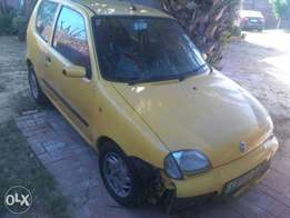 Nice yellow Fiat excellent price