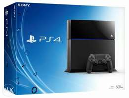 Playstation 4 500gb brand new sealed(white)