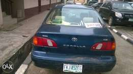 Registered Toyota Corolla 2000 for sale
