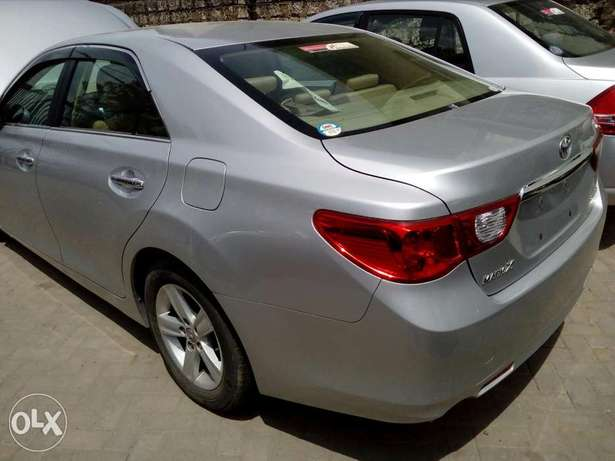 Toyota mark x silver colour new plate number fresh import Mombasa Island - image 3