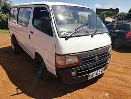 Toyota Hiace (2000) 2980cc diesel engine manual transmission