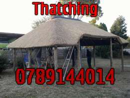 thatching reapairs, lapa building and fire-proofing