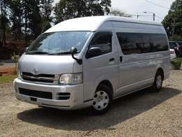 Toyota Haice 9L 2011 model kcp