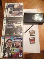 Nintendo DS lite ( black ) and 5 games