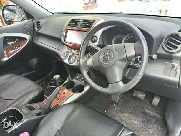 2010 model of Black Rav 4 with dark interior KCP number Mombasa Island - image 5