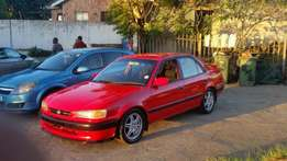 Toyota corolla rsi 20v for sale R21000