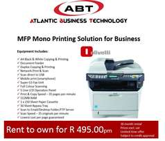 MFP Mono Printing Solution for Business