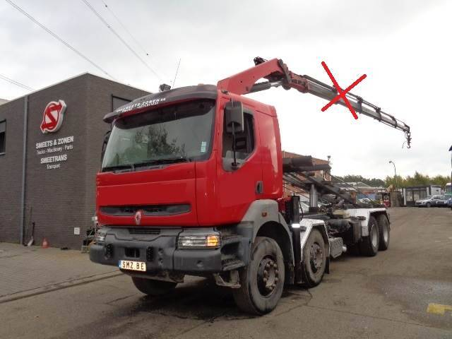 Renault Kerax 420 Cable System 8x4 - 2004