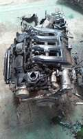 BMW E90 320D M47 engine stripping for spares