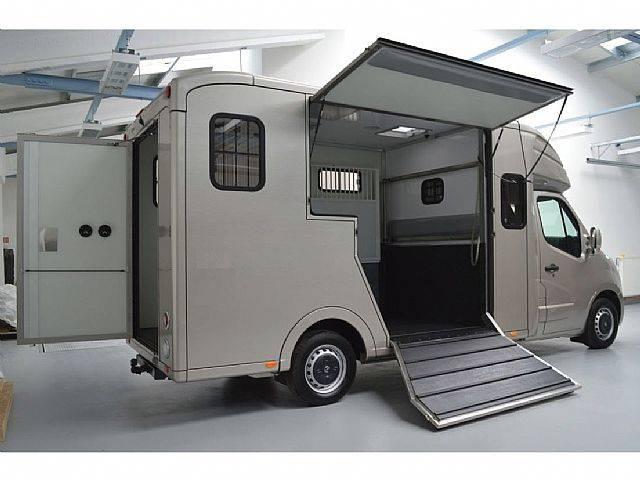 Opel Movano Paardentransport horsetruck 2-paards B - 2019