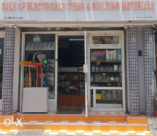 Running Building materials shop for sale in Ruwi prime location