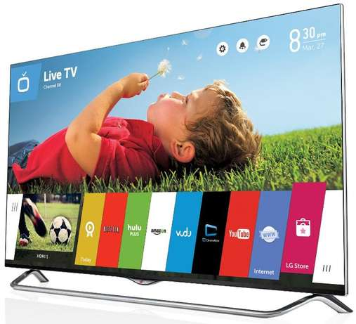 new 60 inch lg smart tv with weboos,wifi,youtube,google in cbd shop Nairobi CBD - image 1