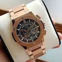 Hublot Chronograph RoseGold Watch