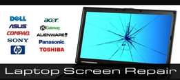 Free laptop screen replacement