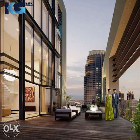 Apartments for sale with pool- Downtown Dubai -Emaar Boulevard Heights