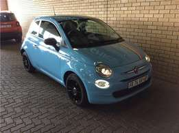 2017 Fiat 500 900T Twinair Pop Star Base for sale in Gauteng
