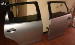 polo vivo doors for sale is only 2 back doors R1000each neg contact