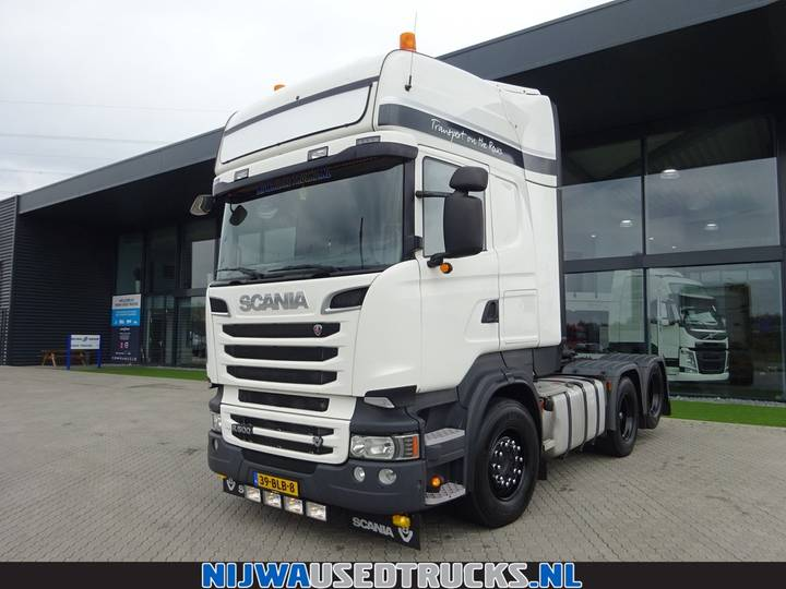 Scania R 500 V8 sleepas Retarder + Schuifschotel - 2013