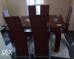 MF dining table and chairs