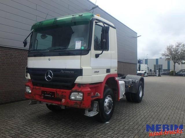 Mercedes-Benz Actros 2041 AS 4x4 Euro 5 EPS / BIG AXLES - 2007