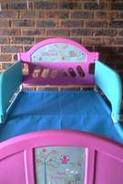 Girls Toddler Bed with Extras