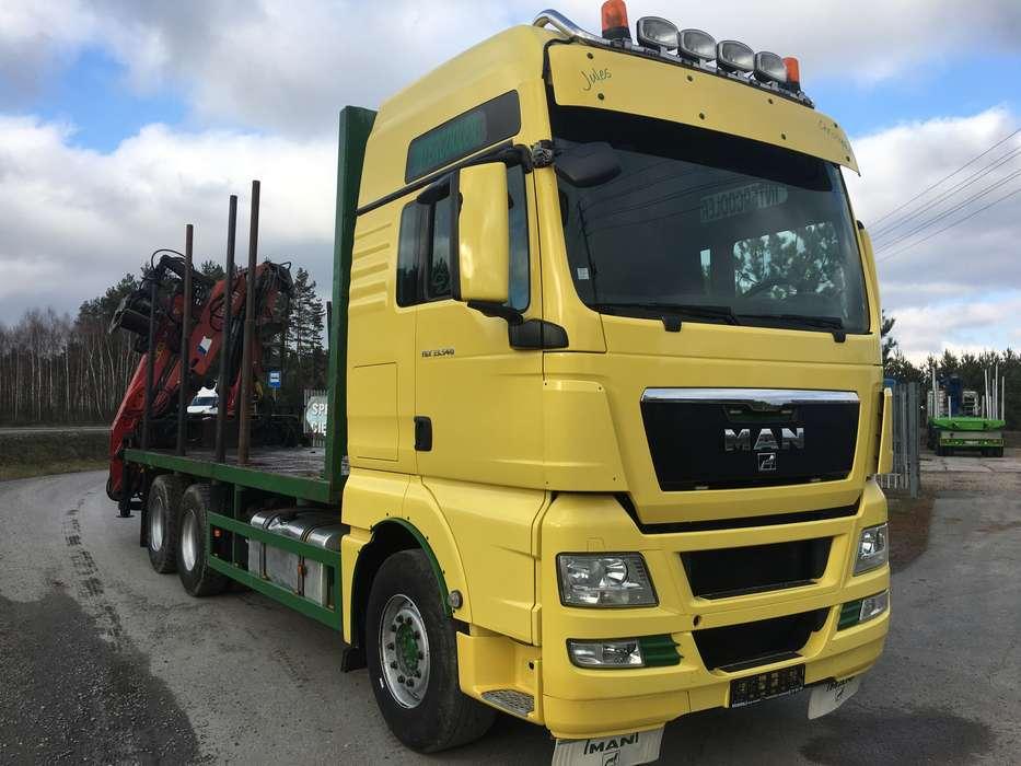 MAN TGX 33.540. 6x4 EURO*5 Holz - 2011