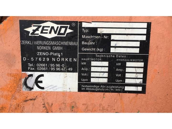 Zeno  ZDV 2500 x 2000 hout schredder - 1996 - image 9
